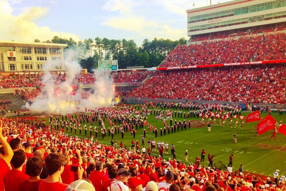 NC State University game