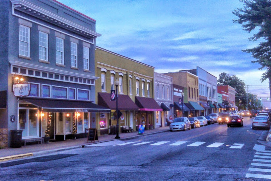 Downtown Apex, NC